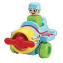 Tomy Toomies Push And Go Vehicle - Plane