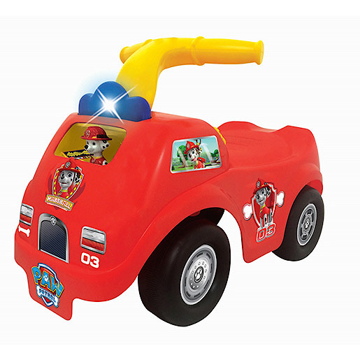 Paw Patrol Light n Sound Rescue Marshall Fire Truck Ride-On