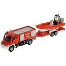 Siku Diecast Fire Truck with Boat