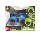 Extreme 360 RC Stunt Double - Side Roll Car - Blue