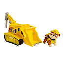 Paw Patrol Rubble's Diggin' Bulldozer Vehicle with Figure