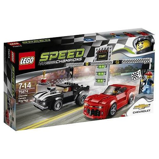LEGO Speed Champions Chevrolet Camaro Drag Race - 75874