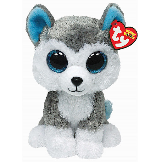 Ty Beanie Boo Buddy - Slush the Husky Dog