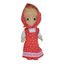Masha and The Bear Figure - Masha with Polkadot Dress