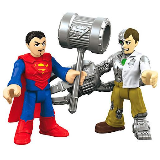 Image of Fisher-Price Imaginext DC Super Friends - Superman & Mettalo