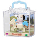 Sylvanian Families Baby Carry Case - Beagle Dog On Pony Ride