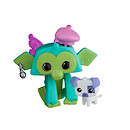 Animal Jam Lucky Monkey Figure with Pet Puppy
