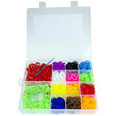 Jacks Loopies Loom Band Storage Case - 2000 Loom Bands