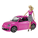 Barbie Volkswagen The Beetle Car with Barbie Doll