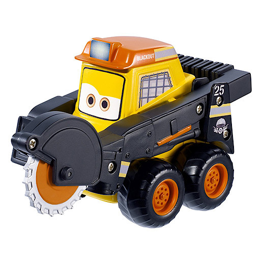 Image of Disney Planes Fire and Rescue Smokejumpers Team - Blackout Vehicle