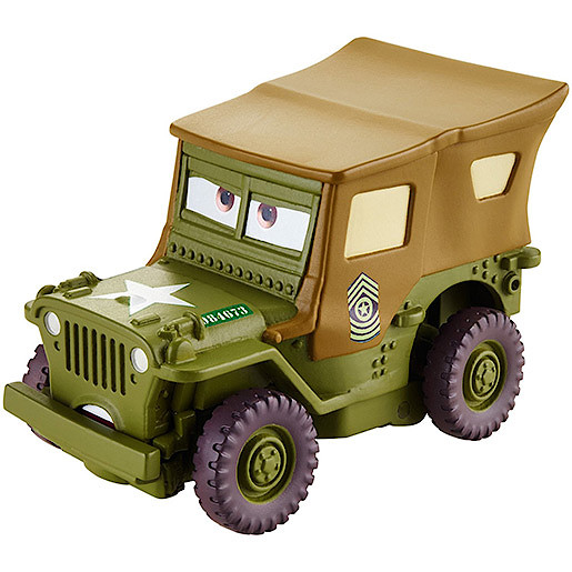 Image of Disney Cars Wheel Action Drivers Vehicle - Sarge