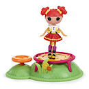 Mini Lalaloopsy Doll Playground - Ember Flicker Flame Trampoline