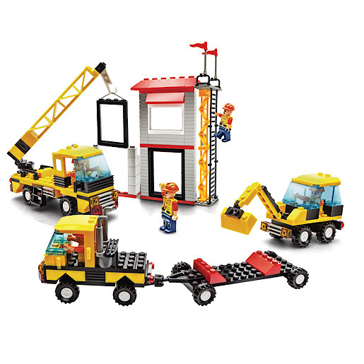 Image of Block Tech Extra Large Construction Crew Set