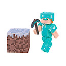 Minecraft Alex in Diamond Armour Figure with Accessories