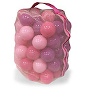 Pink Playballs 100 Pack