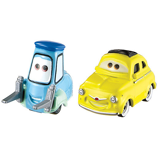 Disney Cars Luigi & Guido Vehicles