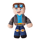 Tube Heroes The Diamond Minecart Soft Toy