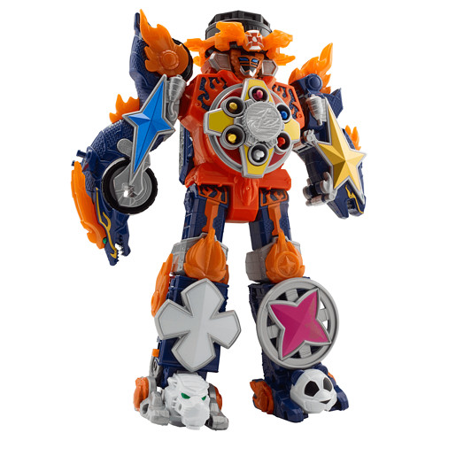 Power Rangers Super Ninja Steel Blaze Megazord