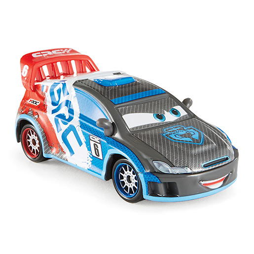 Image of Disney Pixar Cars Carbon Fibre Diecast Vehicle Raoul Caroule