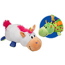 Flip A Zoo Reversible Soft Toy - Unicorn to Dragon