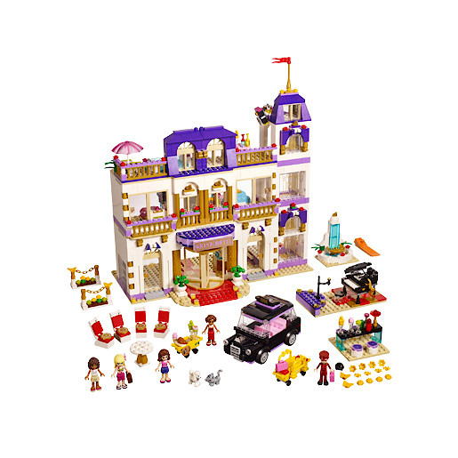 Lego Friends Heartlake Grand Hotel 41101 The Entertainer