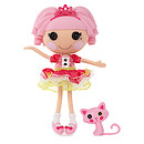 Lalaloopsy 33cm Core Doll with Pet - Jewel Sparkles