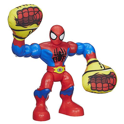 Playskool Heroes Marvel Super Hero Adventures Kapow Figure  SpiderMan