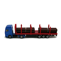 Die-Cast Log Transporter Truck