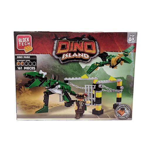 Block Tech Medium Set - Dino Island from TheToyShop