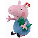 Ty Peppa Pig Buddy - George Soft Toy