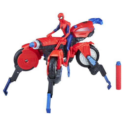 Nerf Marvel Spider-Man 3in1 Spider Cycle