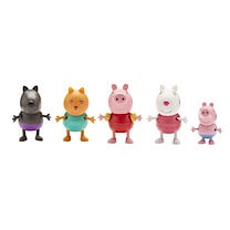 Peppa Pig Holiday 5 Figure Pack