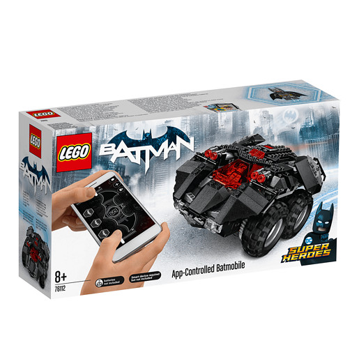 LEGO DC Super Heroes App-Controlled Batmobile - 76112