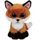 Ty Beanie Boo Buddy - Slick the Fox Soft Toy