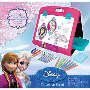 Disney<br /> Frozen Anna Travel Art Easel
