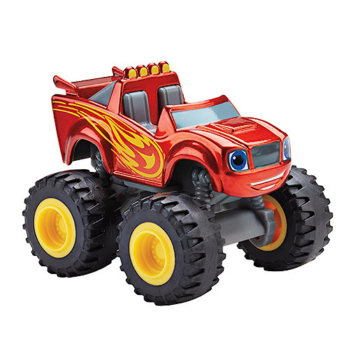 Image of Fisher-Price Blaze and the Monster Machines Die Cast Vehicle - Metallic Blaze