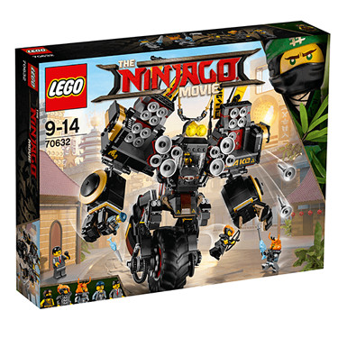 LEGO The Ninjago Movie Quake Mech - 70632 - The Entertainer