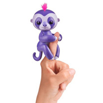 Fingerling Sloth - Purple Marge