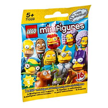 Lego The Simpsons Series 2 Minifigures Mystery Bag The