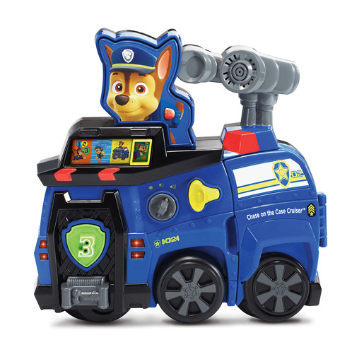 Vtech Chase on the Case Cruiser