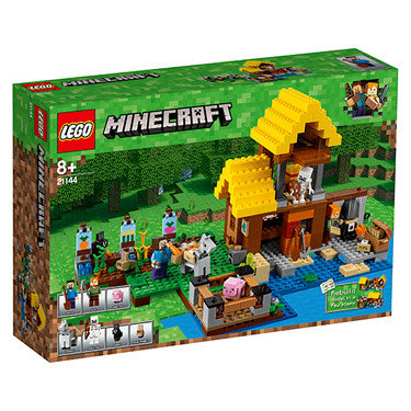 LEGO Minecraft The Farm Cottage - 21144 - The Entertainer