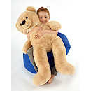 Snuggle Buddies 100cm Hugo Teddy Bear