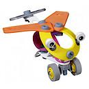 Meccano Build & Play 2-in-1 Mini Plane and Helicopter