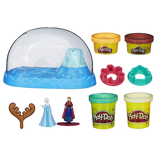 Play-Doh Disney Frozen Sparkle Snow Dome Set