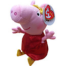 TY Beanie Buddy 23cm Peppa Pig Golden Boots Soft Toy