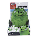 Angry Birds Movie Large Clip On Soft Toy - Pig