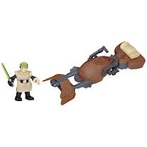 Playskool Heroes Star Wars Jedi Force - Speeder Bike with Luke Skywalker Figure