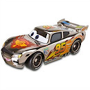Disney Cars Metallic Finish Series - Lightning McQueen Vehicle