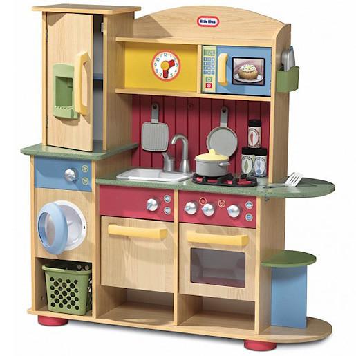 Little Tikes Cookin Creations Premium Wood Kitchen