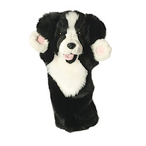 Long-Sleeved Glove Puppet - Border Collie